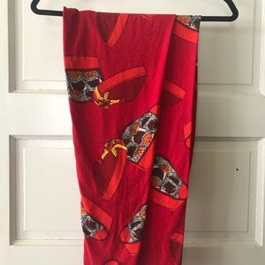 LulaRoe TC valentine chocolate box leggings BNWOT